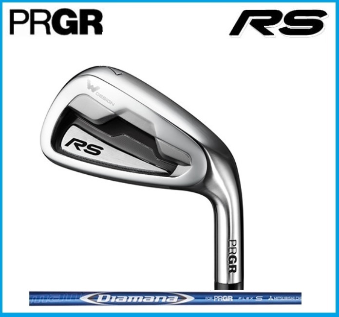☆2018年 PRGR プロギア RS アイアン5本セット(#6-PW) Diamana for PRGR カーボンシャフト