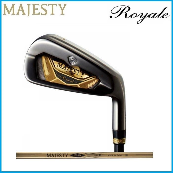 ☆MAJESTY マジェスティ Royale ロイヤル アイアン 単品 直送商品 シャフト #6 メーカー公式ショップ AW SW #5 MAJESTYLV530