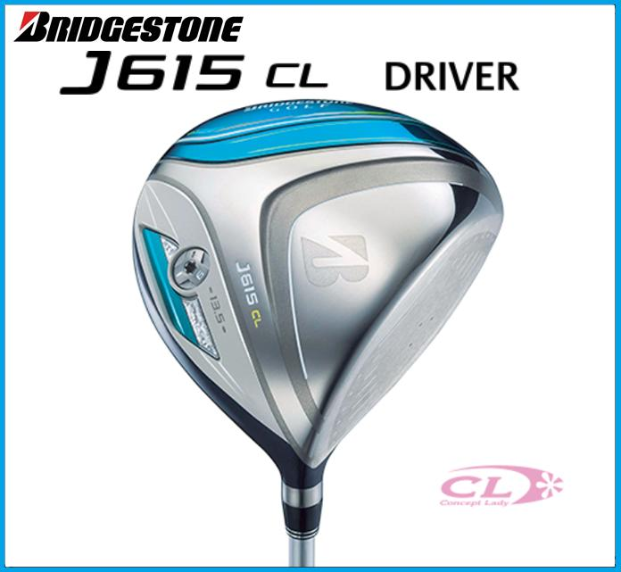☆2015年モデル ブリヂストンゴルフ J615 CL レディース ドライバー J15-31W カーボンシャフト