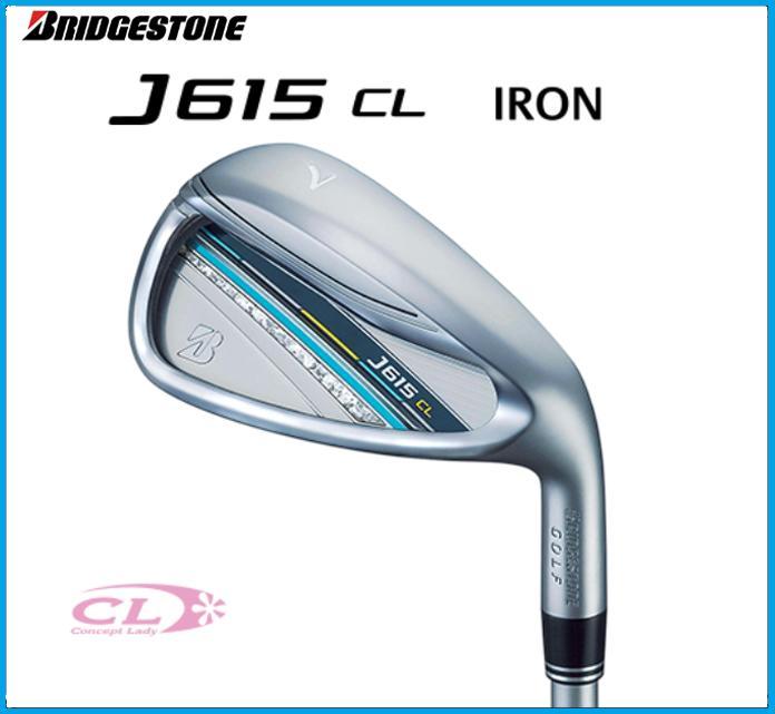 ☆2015年モデル ブリヂストンゴルフ J615 CL レディースアイアン 単品 #5 #6 AW J15-31I カーボンシャフト