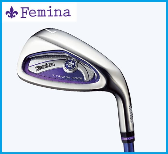 2015年モデル YAMAHA ヤマハ Femina フェミナ レディース アイアン5本セット(7-9,PW,SW) TX-415i4 カーボンシャフト