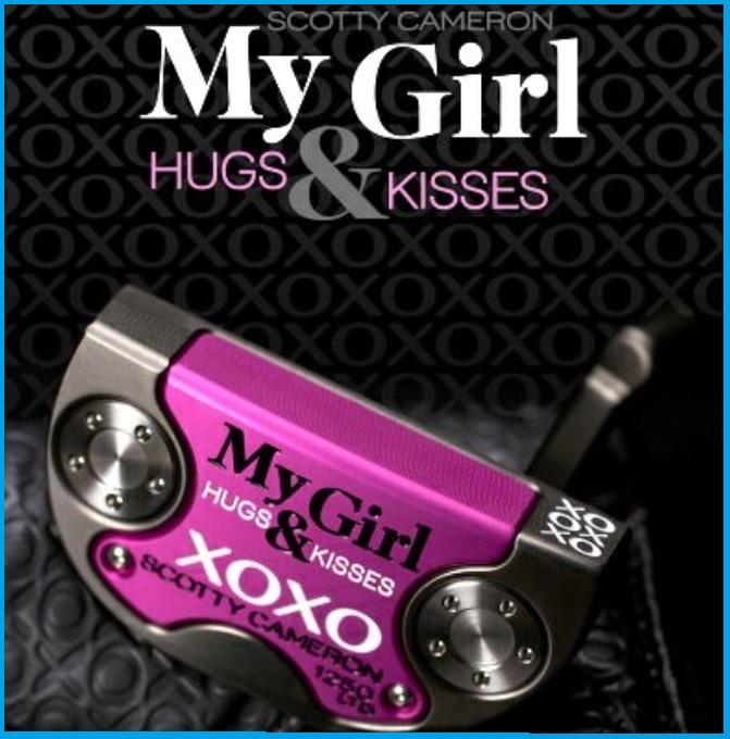 ☆2018年 SCOTTY CAMERON スコッティ キャメロン My Girl マイガール 限定生産 パター XOXO Hug and Kiss