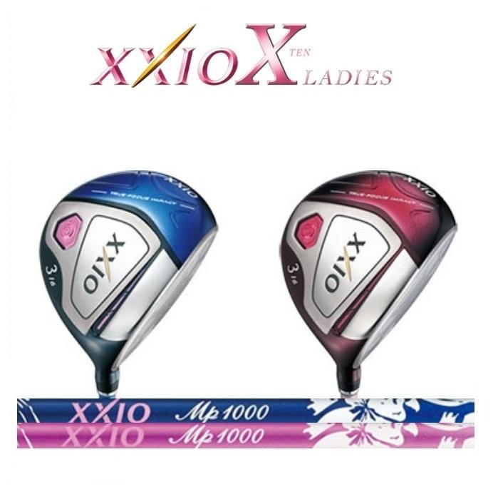 数量限定特価 ダンロップ レディス XXIO10 ゼクシオ10 フェアウェイウッド MP1000L ブルー/ボルドーシャフト