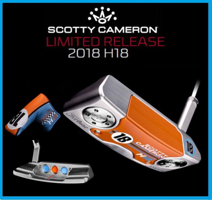 ☆2018年 Scotty Cameron スコッティキャメロン HOLIDAY ホリディ H18 パター