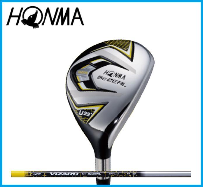 本間ゴルフ Be ZEAL525 ホンマ ビジール ユーティリティ VIZARD カーボンシャフト