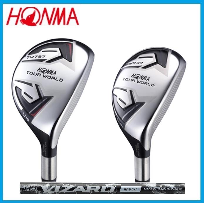 ☆ホンマゴルフ ツアーワールド737 ユーティリティ HONMA GOLF TOUR WORLD UT VIZARD IN65U シャフト