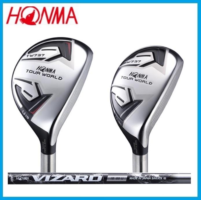☆ホンマゴルフ ツアーワールド737 ユーティリティ HONMA GOLF TOUR WORLD UT VIZARD IB-U シャフト
