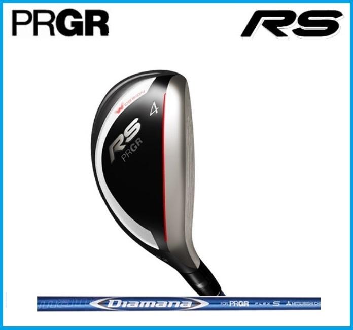 2018年 プロギア PRGR RS ユーティリティ Diamana for PRGR シャフト