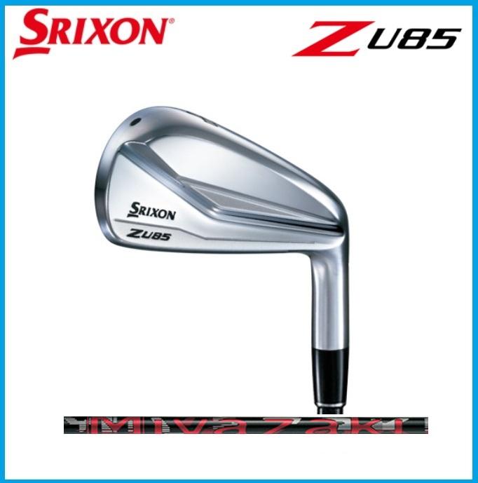 ☆2018年 SRIXON スリクソン Z U85 ユーティリティ Miyazaki Mahana カーボンシャフト