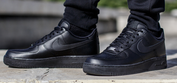 Nike Air Force One men sneakers black 315,122-001 AIR FORCE 1 '07 nike49