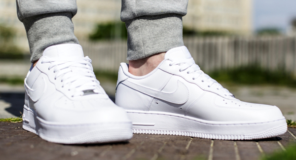 new concept 9f9a3 39e57 Nike Air Force One low 07 men s sneakers white NIKE ICONS Nike icon  315,122-111 nike50