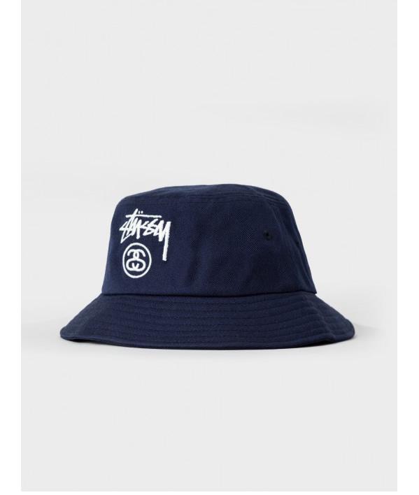 Stussy STUSSY 帽桶帽 2016年假日 HO16 丙烯酸股票锁斗帽子 132820 stu446
