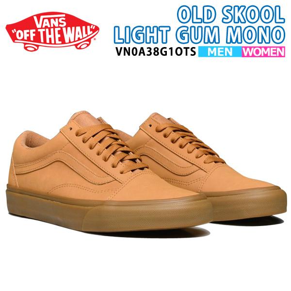 Brand name VANS (vans) Brand name Old school vans back Article number. VANS  OLD SKOOL VANSBUCK LIGHT GUM MONO 3b77e5a82