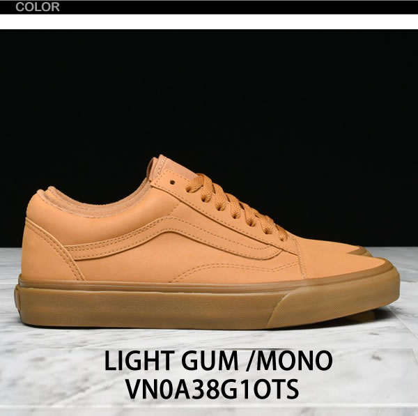 9e3c63941e Brand name VANS (vans) Brand name Old school vans back Article number. VANS  OLD SKOOL VANSBUCK LIGHT GUM MONO