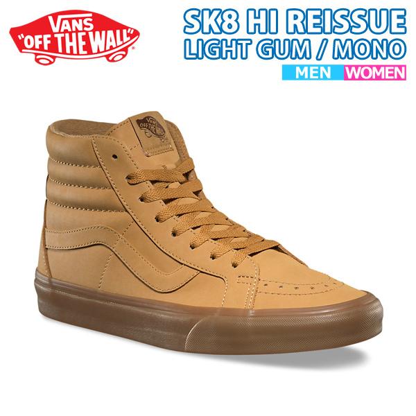 【クーポンでさらに100円OFF】バンズ スケートハイカット リイシュー メンズ レディース キャンバス カジュアル 靴SK8 HI REISSUE va-61