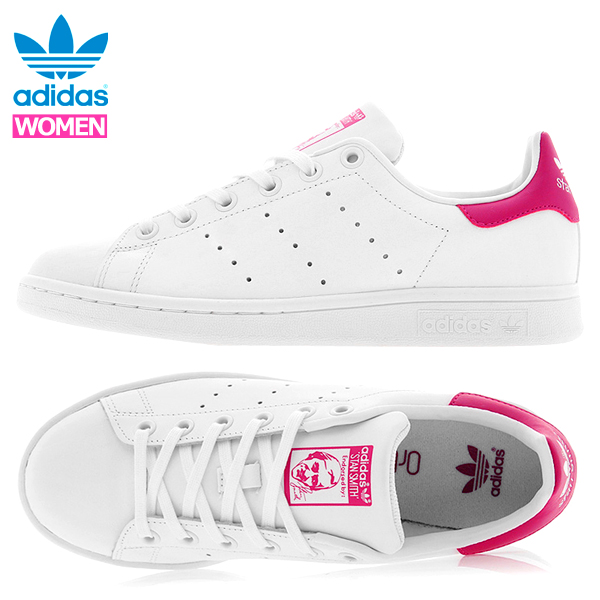 separation shoes 11a24 c4ee2 Yellow  Adidas Stan Smith Lady s youth sneakers adidas STAN SMITH J pink  white   Rakuten Global Market