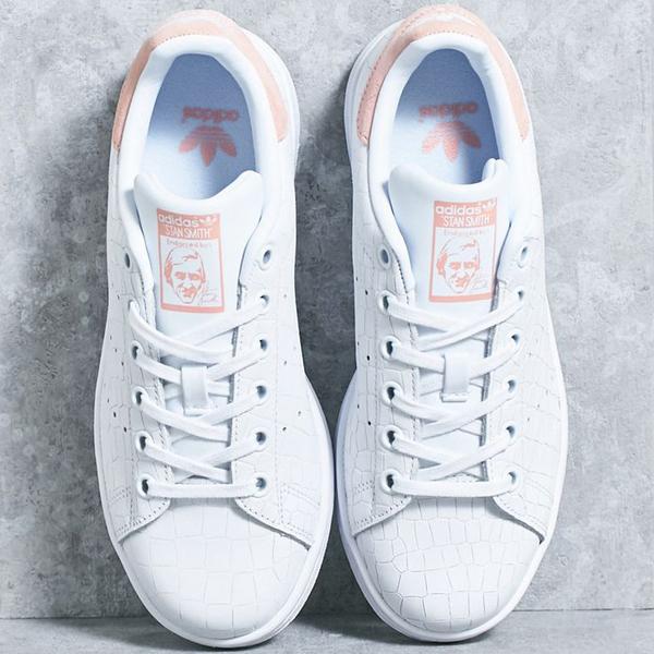 愛迪達Stan Smith正規的物品adidas STAN SMITH J女士運動鞋S77178 ads56