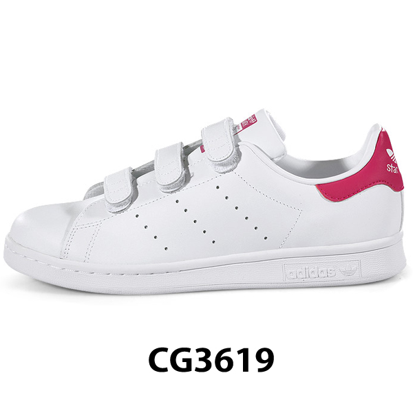 adidas阿迪达斯Stan Smith铃黑女士粉红STAN SMITH CF J CG3619 ads62