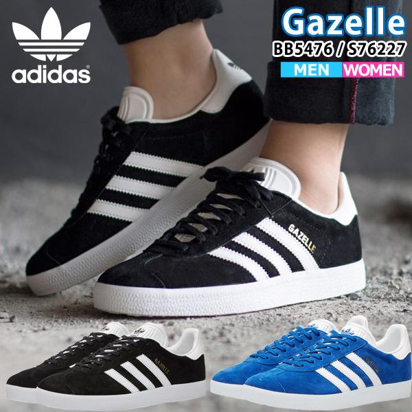 nouveau produit dcad0 857bb Adidas adidas originals gazelle Lady's men sneakers Gazelle BB5476 S76227  CORE BLACK COLLEGIATE ROYAL ads91