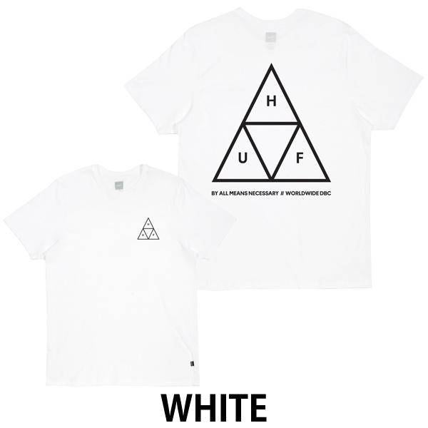 楽天市場 huf ハフ tシャツ triple triangle tee tsbsc1114 単品購入に