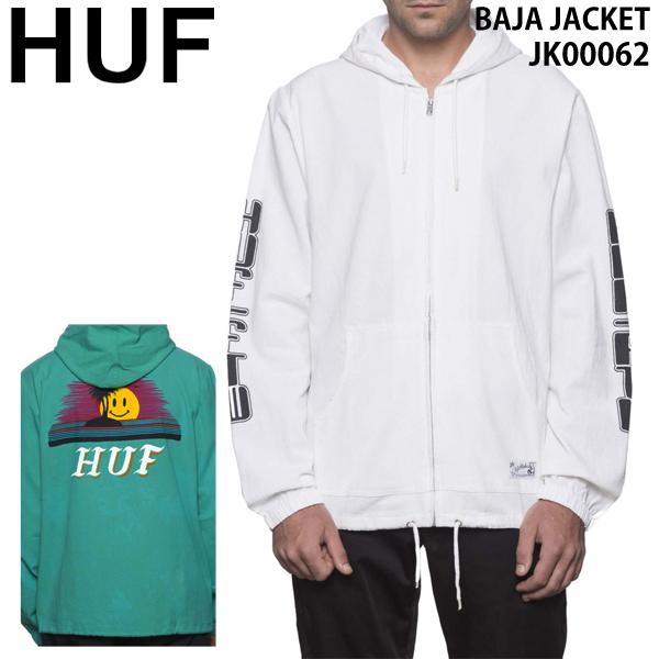 HUF ハフ メンズ パーカー フーディー フード アウター JK00062 BAJA JACKET huf583
