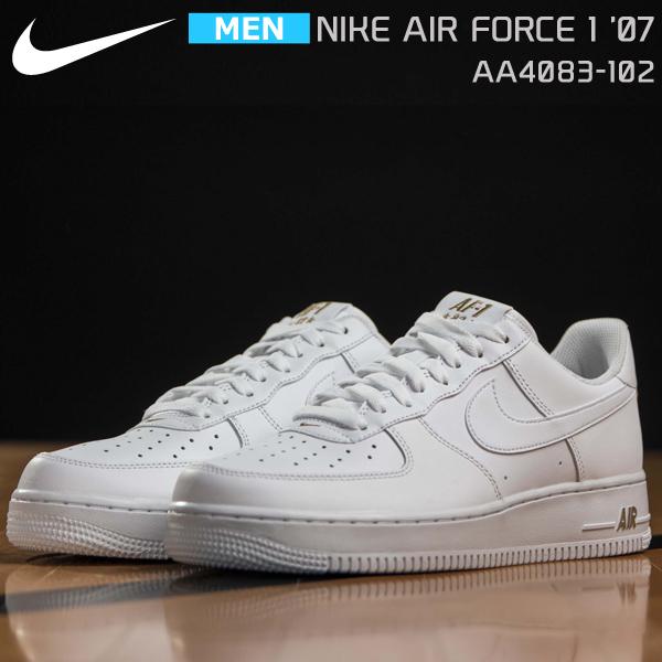 ナイキ メンズ 靴 スニーカー ホワイト エア フォース ワン '07 AIR FORCE 1 '07WHITE/METALLIC GOLDAA4083-102 nike99