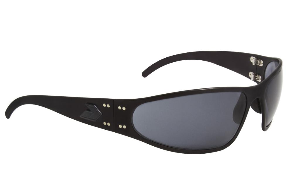 GATORZ ラプター サングラス BLK MBP(ブラックアウト)/グレーポラライズド (偏光レンズ仕様)