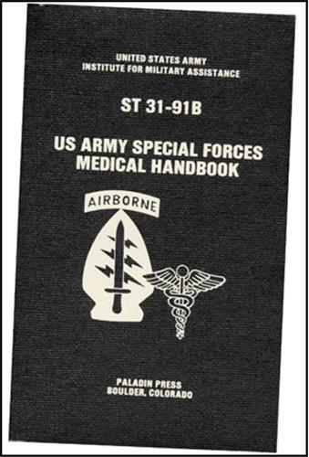 米陸軍特殊部隊メディカルハンドブック