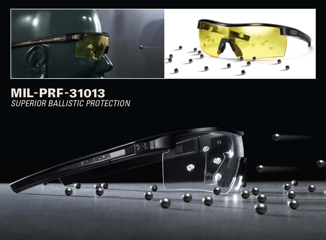 3016a60800 risk  Polarized lenses UNDER ARMOUR battle rap tactical (satin black ...