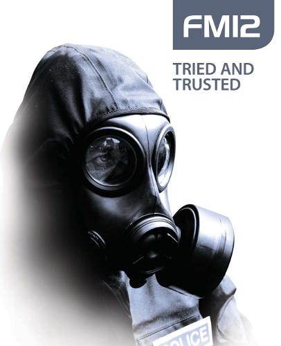 数量限定!!(即納)英軍SAS用実物 FM-12レスピレーター NBC ガスマスク フルセット(新品)