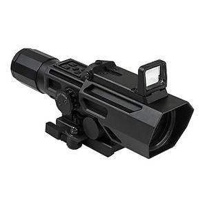 NcSTAR社 GEN3 ADO 3-9X42mm スナイパースコープ+フリップアップ・レッド・ドットサイト