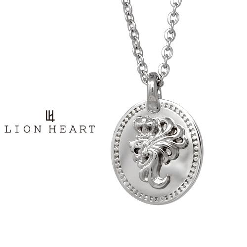 ライオンハート LH-1 ハウル ステンレスプレートネックレス (ラージ) LHMN011H LION HEART ステンレス メンズネックレス (LH)