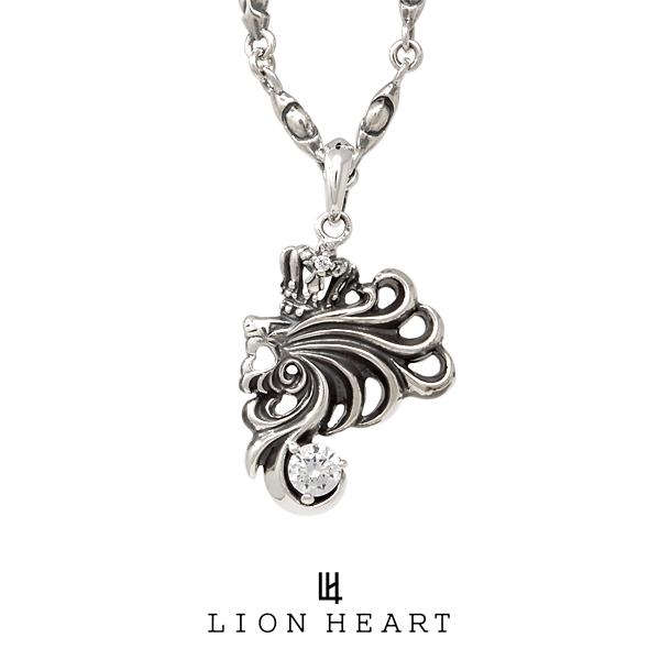 ライオンハート HOWL ハウルネックレス 01NE0051CL LION HEART シルバーネックレス [LH]