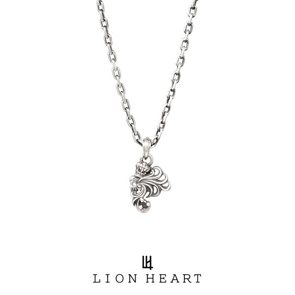 ライオンハート HOWL 「2017」ミニハウルネックレス/ブラックダイヤ 01NE0841BK LION HEART ハウル シルバー ネックレス [LH]