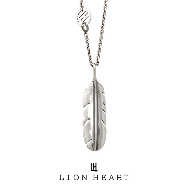 ライオンハート INDIAN STAR フェザーネックレス/L 01NE1441SV LION HEART インディアンスター シルバーネックレス [LH]