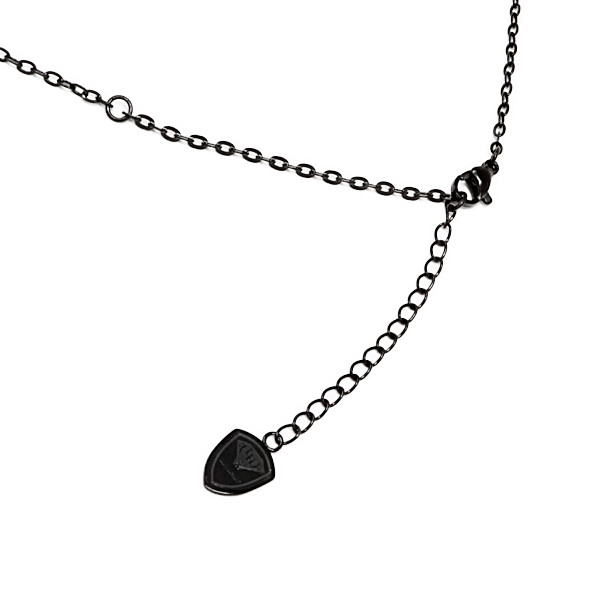 ライオンハート LH-1 BLACK COLLECTION 2チャームネックレス LHMN007NLION HEART ステンレス メンズ (LH)