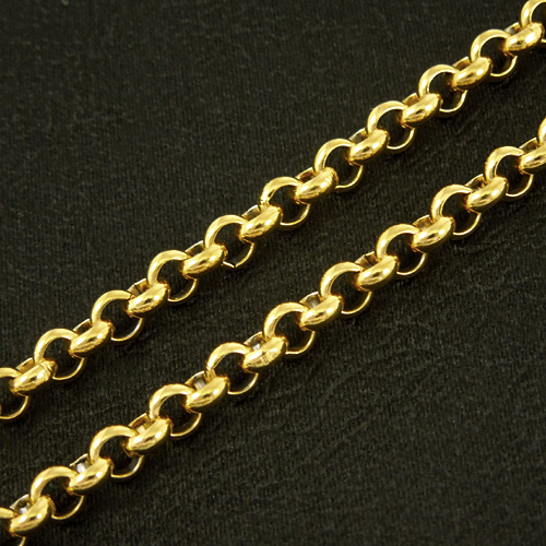 POLICE police stainless necklace SAINT gold cross 24048PSG01 [Rism]