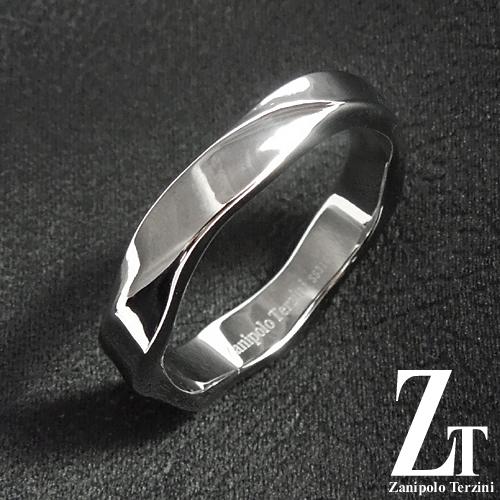ザニポロタルツィーニ リング ZTR2607NOR Zanipolo Terzini ウェーブ シンプル メンズ レディース ステンレス 金属アレルギー対応 [ZT]