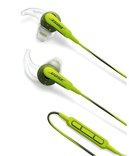 Bose SoundSport in-ear headphones - Apple devices イヤホン エナジーグリーン新品