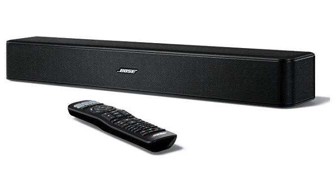 Bose Solo 5 TV sound system : ワイヤレスサウンドバー Bluetooth対応