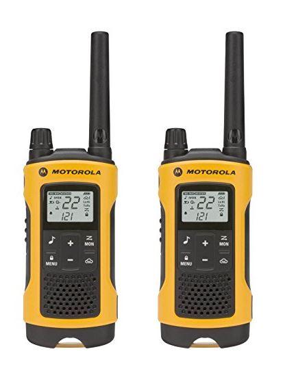 Motorola Talkabout T402 35-Mile(56キロ) Range 22-チャンネル トランシーバー 2台セット生活防水仕様