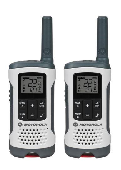 特価!Motorola Talkaboutトランシーバー T260 (40キロ) Range 22-チャンネル トランシーバー 2台セット