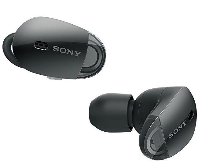 アウトレット特価 ソニー SONY 完全ワイヤレスノイズキャンセリングイヤホン WF-1000X Bluetooth対応 左右分離型 マイク付き WF-1000X ブラック