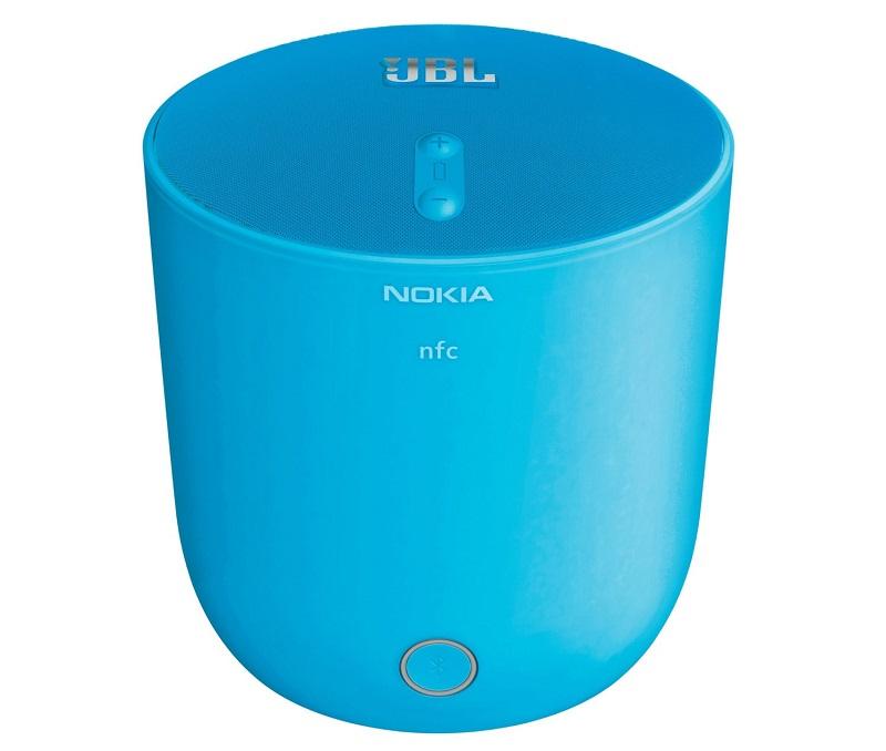 NFC対応【税込!送料込!】Nokia MD-51W JBL PlayUp Bluetooth ワイヤレス スピーカ  ブルー