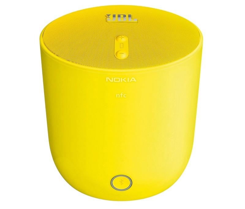 NFC対応【税込!送料込!】Nokia MD-51W JBL PlayUp Bluetooth ワイヤレス スピーカ イェロー