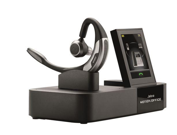 Jabra Motion Office MS ワイヤレスヘッドセット 2.4型タッチパネル搭載モデル
