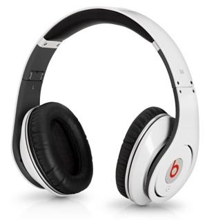 アメリカ正規品・本物保証【アウトレット新品特価!】 Beats by Dr. Dre studio ヘッドホン ホワイト