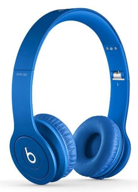アメリカ正規品・本物保証【アウトレット新品特価!】beats by dr.dre beats Solo HD Matte White BT ON SOLOHD ブルー