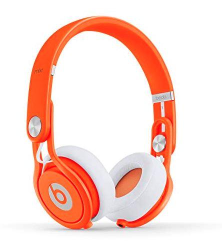 【アウトレット特価!純正品保証】Beats by Dr.Dre beats mixr neon ヘッドフォン ピンクカラー BT ON MIXR オレンジ