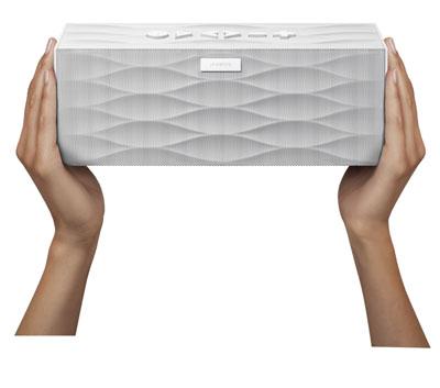 【送料無料】JAWBONE ポータブル Bluetooth ワイヤレス スピーカー Aliph Jawbone Big Jambox ホワイト